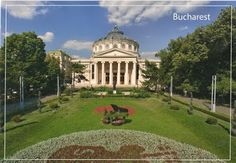 Bucurestiul fara Firea - carti postale - Bucharest without Primary General - postcards - Bucharest, Postcards, Roman, Mansions, House Styles, Manor Houses, Villas, Mansion, Palaces
