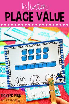Place value cards 1-20