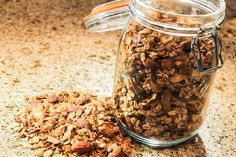 Cinnamon Apple Almond Granola