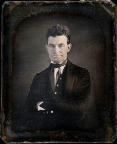 KANSAS; John Brown, abolitionist