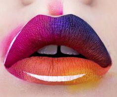 This Makeup Artist Is Crazy Good At Lip Art http://ift.tt/1XwReId #LookMagazine #Fashion