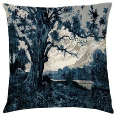Kerrie Brown -Velvet Cushion - Sill Life - Blue Mountains - Please email sales@kerriebrown for a shipping quote
