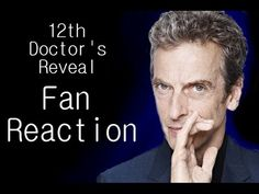 12th Doctor Reveal Fan Reactions - Love the Stereotypical Fangirl reaction, haha