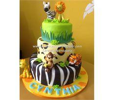 Verzierte Kuchen Frau Castillo Caracas – Venezuela Tortassracastillo …: Torta A … - Animals 2019 Safari Baby Shower Cake, Baby Shower Cakes, Baby Boy Shower, Zoo Cake, Jungle Cake, September Baby Showers, Safari Cakes, Safari Theme Party, Zoo Birthday