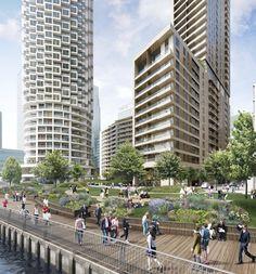 Herzog & de Meuron design skyscraper for east London