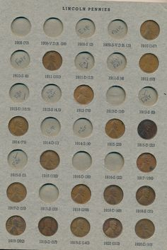 Lincoln Cent Penny Album Dansco 1910-1973 Mostly Full To see the Price and Detailed Description you can find this item in our Category Coins, Currency & Related on eBay:  RD2591