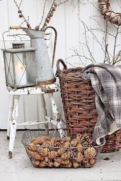 decoración de otoño