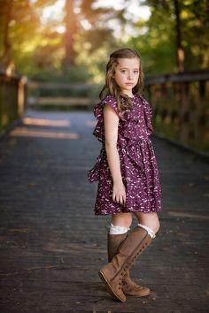 Fall Boho Collection 2016 - Bundle of 5 Little Girl Fashion, Little Girl Dresses, Girls Dresses, Boho Dress, Knit Dress, Top Wedding Dresses, Dress Making, Girl Outfits, Grandkids