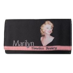 Hollywood Legend Marilyn Monroe Long Trifold Wallet by Marilyn Monroe. $19.99. Comfortable Backpacks, Handbags, and Popular Messenger Bags - Perfect Gift for Kids and Teenagers. Hollywood Legend Marilyn Monroe Long Trifold Wallet. Bring the favorite friends to school, great incentive to go to School and enjoy their homework. Waive Sales Tax for All States - Super Saving compares to Retail Stores. Visit our Webstore in Amazon for Details - http://colorful-items.we...