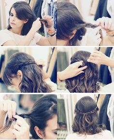 step by step, hair
