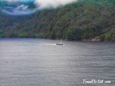 Ship. Milford Sound. New Zealand