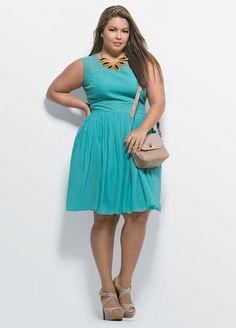Fluvia Lacerda - plus size fashion - Manequim - Editora Abril