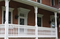 Structural Vinyl Porch Posts - FAIRWAY Vinyl Systems