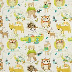 Nature Trail Curtain Fabric