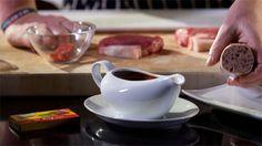 Steak Table Sauce Tasty, Yummy Food, Recipe Using, Sauce Recipes, Gravy, Sauces, Dips, Steak, Food Ideas