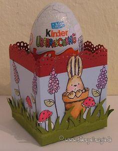 Tutorial for egg cup box Stempeleinmaleins: Eier-Box / Egg Box