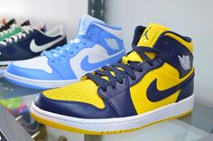 High top Nikes - So dope.
