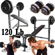 Bench Press With Weights Set And Bar Body Solid Leg Extension Home Gym Equipment #MarcyGoldsGym