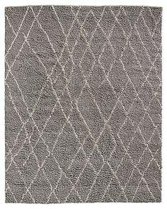 Noura Moroccan High-Pile Wool Rug | Restoration Hardware