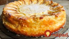 Jemný jablkový koláč s tvarohom: Stačí len nastrúhať do formy a zaliať, tento jablčník má najväčší úspech! Russian Recipes, Apple Pie, Cooking Recipes, Food, Apples, Kimono, Kitchen, Basket, Yummy Cakes