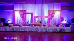 Pink lights : Partyland Event Design Boutique - Photographick Studios