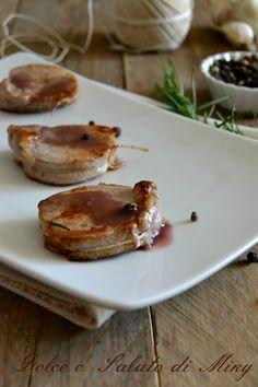 Filetto di maiale con salsa al vino | Dolce e Salato di Miky