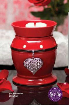 """""""Be Mine"""" scentsy valentines warmer"""