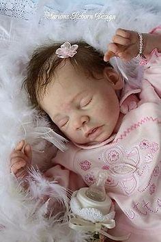 Reborn BABY doll KIT – Stella – Karola Wegerich – Sold Out – KIT ONLY