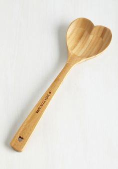 Heart Shaped Spoon