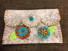 More felted wool applique.