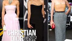 Jessica Alba wears Valentino Fall 2010 Couture, to the New York ...