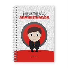 Cuaderno XL - Las notas del administrador, encuentra este producto en nuestra tienda online y personalízalo con un nombre. Cover, Notebooks, Report Cards, Store