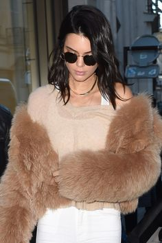 The Best Celebrity Beauty Looks: Kendall Jenner, Sarah Jessica Parker, and Kendall Jenner Outfits, Kendall And Kylie Jenner, Celebrity Beauty, Celebrity Style, Jenner Family, Sarah Jessica Parker, Celebrity Dresses, Autumn Winter Fashion, Winter Style