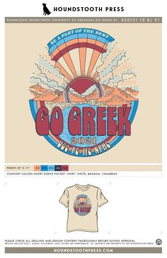 #sorority #greeklife #customdesign #lovethelab // Houndstooth Press Custom Apparel Go Greek, Greek Life, Panhellenic Recruitment, Sorority Pr, University Of Arkansas, Color Shorts, Comfort Colors, Fraternity, Houndstooth