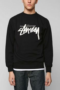 Stussy Croc World Tour Pullover Sweatshirt #urbanoutfitters I know it's for guys but I still want it!