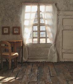"Vilhelm Hammershøi, ""Bedroom"", 1890 - Recherche Google"