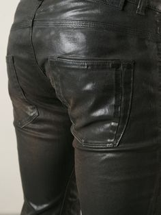 Diesel Black Gold Coated Skinny Jeans in Black for Men | Lyst