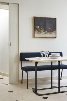 Laiton - Détail autour de la table Sam (design Sarah Lavoine)