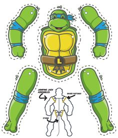 http://www.mgulin.com/wordpress/2014/08/teenage-mutant-ninja-turtles-cut-out-puppet/