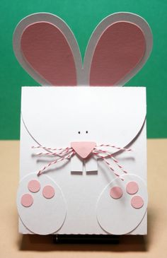 Cute party favor bag but also cute to modify for a card.