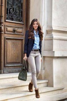 13 Outfits para llevar a una entrevista de trabajo
