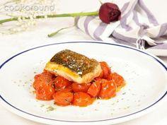 Orata pomodorini e origano | Cookaround