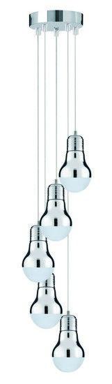 Lustr/závěsné svítidlo SEARCHLIGHT SL 9035-5CC | Uni-Svitidla.cz Moderní #lustr vhodný jako centrální osvětlení interiérových prostor od firmy #searchlight, #design, #england, #lustry, #chandelier, #chandeliers, #light, #lighting, #pendants
