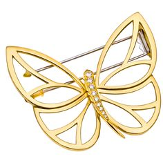 VAN CLEEF & ARPELS Papillon Clip