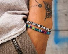 Woven & Braided Bracelets   Etsy Surfer Bracelets, Braided Bracelets, Bracelets For Men, Handmade Bracelets, Cuff Tattoo, Bridesmaid Bracelet, Birthday Gifts For Her, Bracelet Designs, Bracelet Set