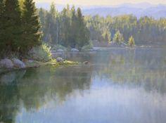 Awakening by Kathleen Dunphy Oil ~ 18 x 24 - landscape painting