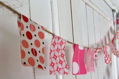 Easy Sew Holiday / Party bunting