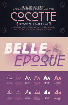 Cocotte Font | dafont.com