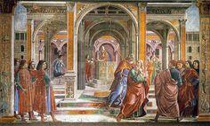 Domenico Ghirlandaio: Cacciata di Gioacchino