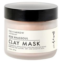 Fig + Yarrow Rose Clay Mask 2 oz : Target